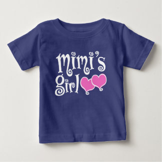 Camiseta Para Bebê A menina de Mimi