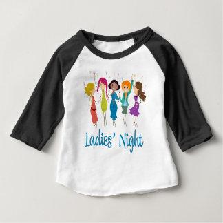 Camiseta Para Bebê A noite das senhoras