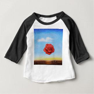 Camiseta Para Bebê a pintura famosa surrealista aumentou da espanha