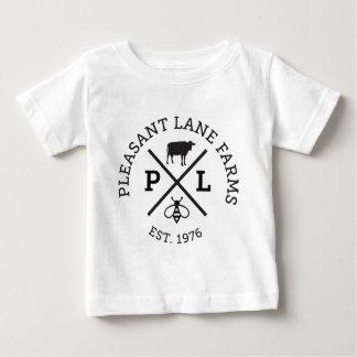 Camiseta Para Bebê A pista agradável cultiva o chapéu