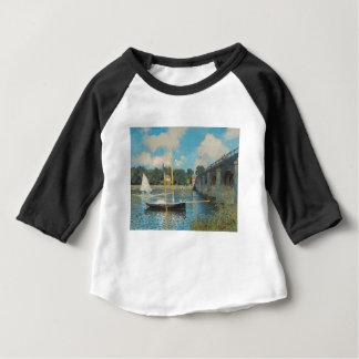 Camiseta Para Bebê A ponte em Argenteuil - Claude Monet