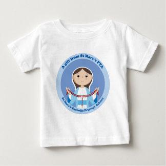Camiseta Para Bebê A Pta preliminar católica de StMary