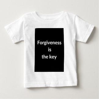 Camiseta Para Bebê A remissão é a chave