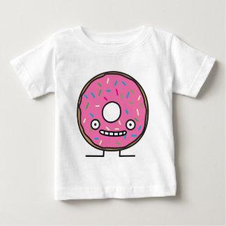 Camiseta Para Bebê A rosquinha louca com polvilha o desser