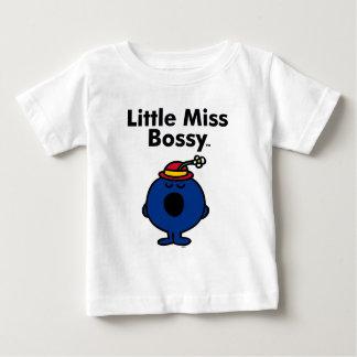 Camiseta Para Bebê A senhorita pequena pequena Bossy da senhorita   é
