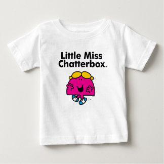 Camiseta Para Bebê A senhorita pequena pequena Chatterbox da
