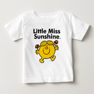 Camiseta Para Bebê A senhorita pequena pequena Luz do sol da