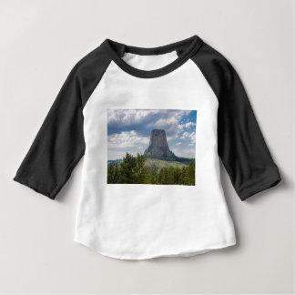 Camiseta Para Bebê A torre do diabo