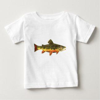 Camiseta Para Bebê A truta de ribeiro bonita