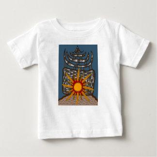Camiseta Para Bebê A última casa de tesouro