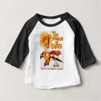 Camiseta Para Bebê A última mulher na terra