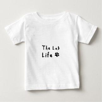 Camiseta Para Bebê a vida do laboratório