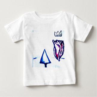 Camiseta Para Bebê A vitória de um coração pela luminosidade