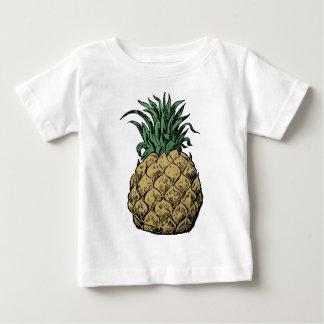 Camiseta Para Bebê Abacaxi