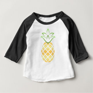 Camiseta Para Bebê Abacaxi Aloha Havaí!