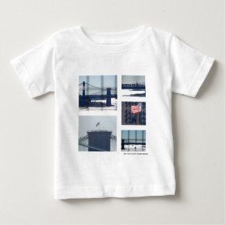 Camiseta Para Bebê Abaixe a fotografia da foto da zona leste (1) New
