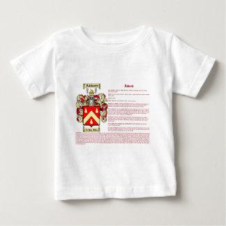 Camiseta Para Bebê Abbott (irlandês (significado)