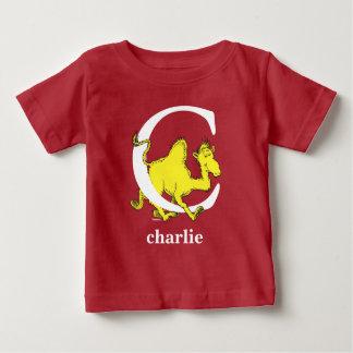 Camiseta Para Bebê ABC do Dr. Seuss: Letra C - O branco | adiciona
