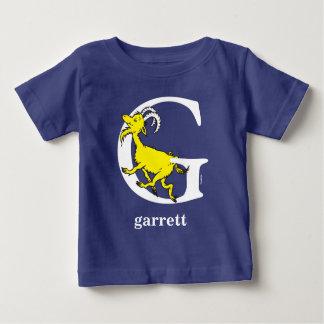 Camiseta Para Bebê ABC do Dr. Seuss: Letra G - O branco | adiciona