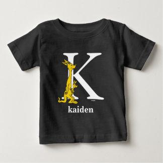 Camiseta Para Bebê ABC do Dr. Seuss: Letra K - O branco | adiciona