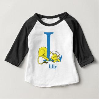 Camiseta Para Bebê ABC do Dr. Seuss: Letra L - O azul   adiciona seu