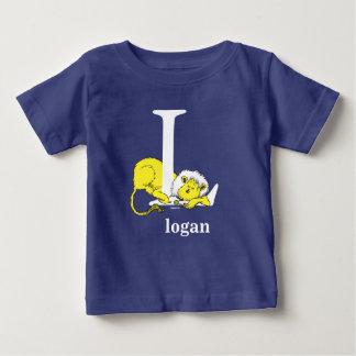Camiseta Para Bebê ABC do Dr. Seuss: Letra L - O branco | adiciona