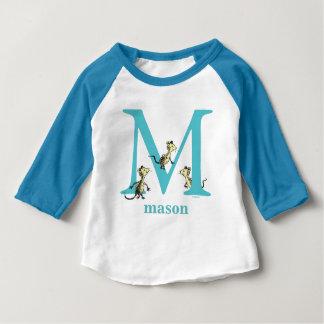 Camiseta Para Bebê ABC do Dr. Seuss: Letra M - A cerceta | adiciona