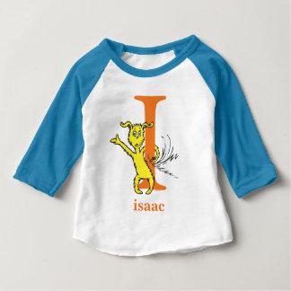 Camiseta Para Bebê ABC do Dr. Seuss: Letra mim - A laranja   adiciona