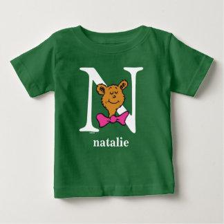 Camiseta Para Bebê ABC do Dr. Seuss: Letra N - O branco | adiciona