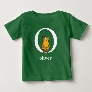 Camiseta Para Bebê ABC do Dr. Seuss: Letra O - O branco | adiciona
