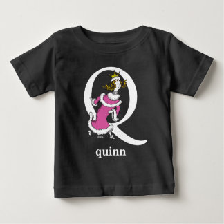 Camiseta Para Bebê ABC do Dr. Seuss: Letra Q - O branco | adiciona