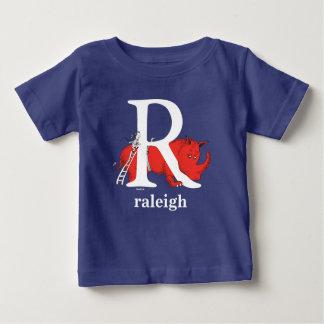 Camiseta Para Bebê ABC do Dr. Seuss: Letra R - O branco   adiciona