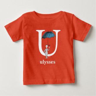 Camiseta Para Bebê ABC do Dr. Seuss: Letra U - O branco | adiciona