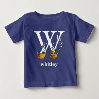 Camiseta Para Bebê ABC do Dr. Seuss: Letra W - O branco | adiciona