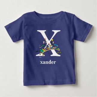 Camiseta Para Bebê ABC do Dr. Seuss: Letra X - O branco | adiciona