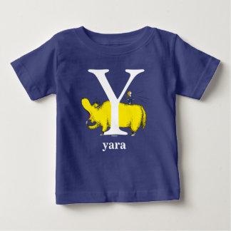 Camiseta Para Bebê ABC do Dr. Seuss: Letra Y - O branco | adiciona
