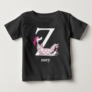 Camiseta Para Bebê ABC do Dr. Seuss: Letra Z - O branco | adiciona