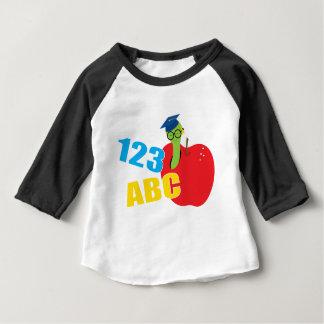Camiseta Para Bebê ABC Worm