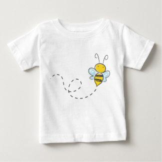 Camiseta Para Bebê Abelha ocupada