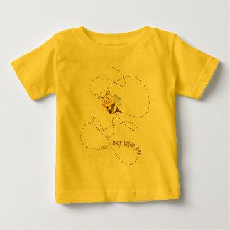 Camiseta Para Bebê Abelha pequena ocupada