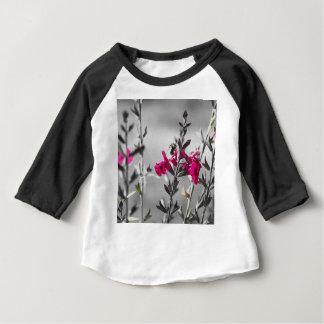 Camiseta Para Bebê Abelha preto e branco