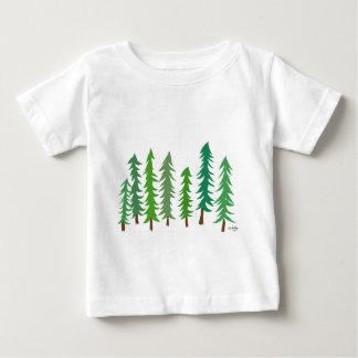 Camiseta Para Bebê Abeto de Douglas