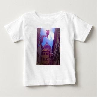 Camiseta Para Bebê Abóbada de Brunelleschi em Florença, Italia