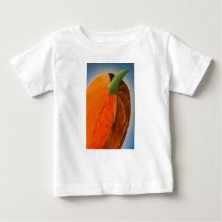 Camiseta Para Bebê Abóbora alegre