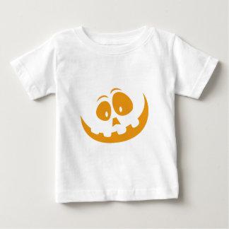 Camiseta Para Bebê Abóbora do Dia das Bruxas da lanterna de O de Jack