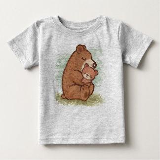 Camiseta Para Bebê Abraço de urso de Momma do bebê