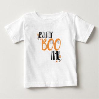 Camiseta Para Bebê Absolutamente Bootiful o Dia das Bruxas