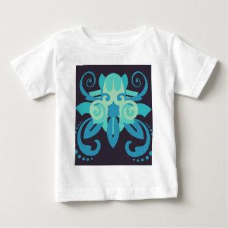 Camiseta Para Bebê Abstracção dois Poseidon