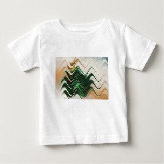 Camiseta Para Bebê Abstrato da árvore de Natal