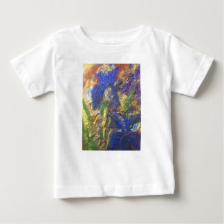 Camiseta Para Bebê Abstrato da íris